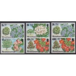 Montserrat - 1980 - Nb 436/441 - Flowers