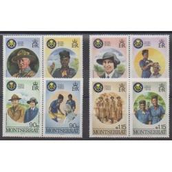 Montserrat - 1986 - No 600/607 - Scoutisme