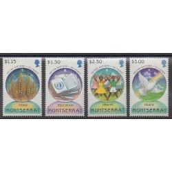 Montserrat - 1995 - Nb 861/864 - United Nations