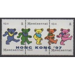 Montserrat - 1997 - No 911/913 - Philatélie