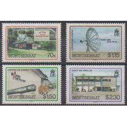 Montserrat - 1986 - No 628/631 - Télécommunications