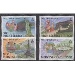 Montserrat - 2000 - No 1027/1030