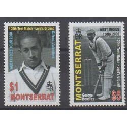 Montserrat - 2000 - No 1021/1022 - Sports divers