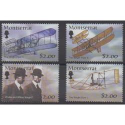 Montserrat - 2003 - No 1093/1096 - Aviation