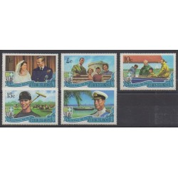 Cook (Islands) - 1971 - Nb 262/266 - Royalty