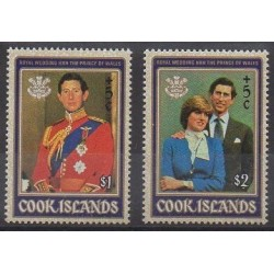 Cook (Islands) - 1981 - Nb 645/646 - Royalty