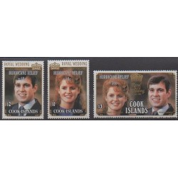 Cook (Islands) - 1987 - Nb 973/975 - Royalty