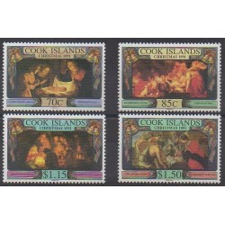 Cook (Islands) - 1991 - Nb 1020/1023 - Christmas