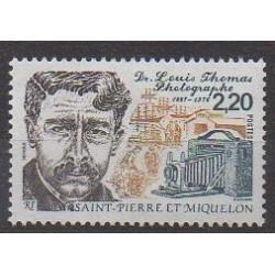 Saint-Pierre et Miquelon - 1988 - No 488 - Célébrités