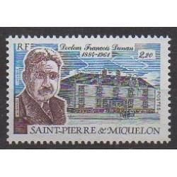 Saint-Pierre et Miquelon - 1987 - No 476 - Santé ou Croix-Rouge