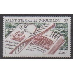 Saint-Pierre et Miquelon - 1986 - No 470 - Histoire