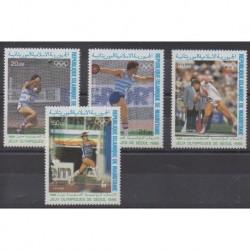 Mauritanie - 1988 - No PA259/PA262 - Jeux Olympiques d'été