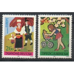 Yougoslavie - 1984- No 1944/1945 - Dessins d'enfants - Europe