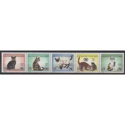 Libya - 1996 - Nb 2117/2121 - Cats
