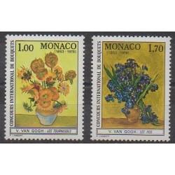 Monaco - 1978 - No 1161/1162 - Fleurs