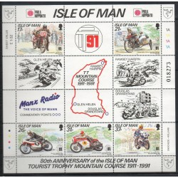 Man (Ile de) - 1991- No BF 18 - Motos