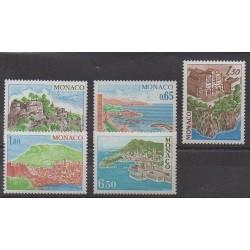 Monaco - 1978 - No 1147/1151 - Sites