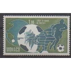 Monaco - 1978 - No 1138 - Coupe du monde de football