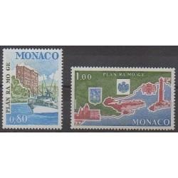 Monaco - 1978 - No 1134/1135 - Environnement