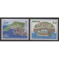 Monaco - 1978 - No 1136/1137 - Monuments