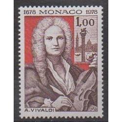 Monaco - 1978 - No 1133 - Musique