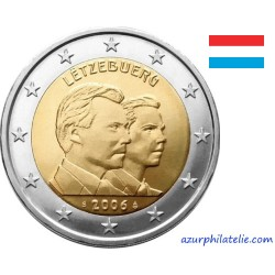 2 euro commémorative - Luxembourg - 2006 - Grand Duc Henri et Grand Duc Guillaume