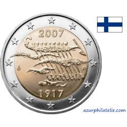 Finlande - 2007 - 90 ans Indépendance de la Finlande