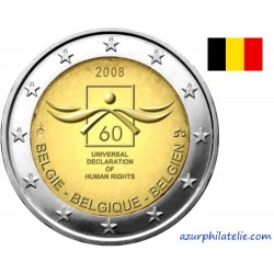 Belgique - 2008 - 60 ans de la Déclaration Universelle des Droits de l'Homme