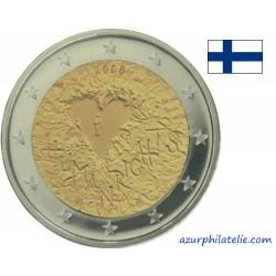 2 euro commémorative - Finlande - 2008 - 60 ans de la Déclaration Universelle des Droits de l'Homme