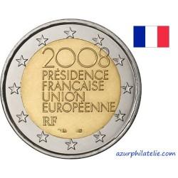 2 euro commémorative - France - 2008 - Présidence Française de l'Union Européenne