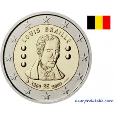Belgique - 2009 - 200ème anniversaire de la naissance de Louis Braille