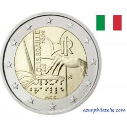 Italie - 2009 - 200ème anniversaire de la naissance de Louis Braille