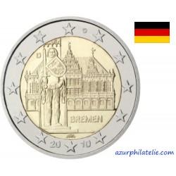 2 euro commémorative - Allemagne - 2010 - Région de Brême