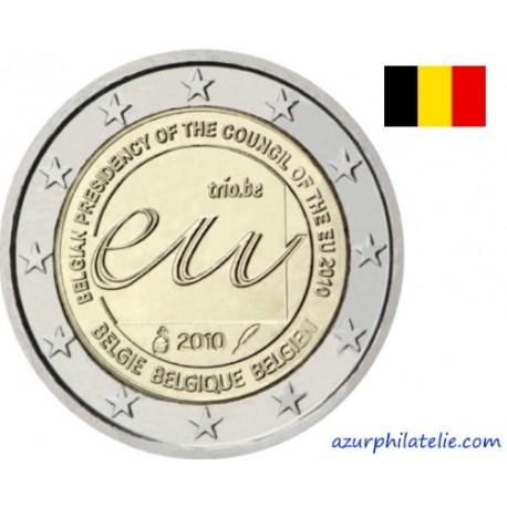 Belgique - 2010 - Présidence Belge de l'Union Européenne