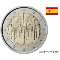2 euro commémorative - Espagne - 2010 - Centre historique de Cordoue