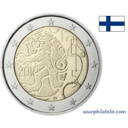 2 euro commémorative - Finlande - 2010 - 150 ans de la monnaie finlandaise
