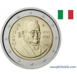 2 euro commémorative - Italie - 2010 - 200 ans de Paolo Camillo comte de Cavour