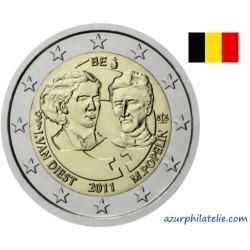 2 euro commémorative - Belgique - 2011 - 100 ans de la journée de la femme