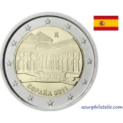 2 euro commémorative - Espagne - 2011 - L'Alhambra de Grenade