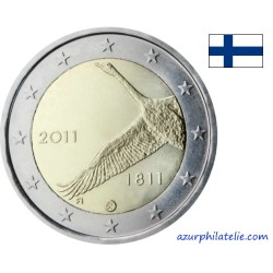 2 euro commémorative - Finlande - 2011 - 200 ans de la banque de Finlande
