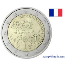 2 euro commémorative - France - 2011 - 30 ans de la fête de la musique