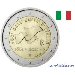 2 euro commémorative - Italie - 2011 - 150 ans de l'unité nationale