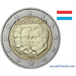 2 euro commémorative - Luxembourg - 2011 - Jean du Luxembourg