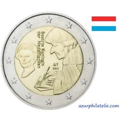 2 euro commémorative - Pays-Bas - 2011 - 500 ans de la parution de l'Eloge de la Folie d'Erasme