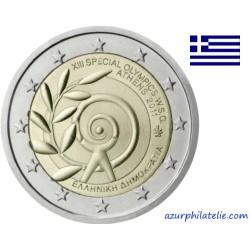 Grèce - 2011 - XIIIème J.O. spéciaux à Athènes