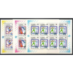 Russie - 1992- No 5915/5917 (3PF) - Jeux olympiques d'hiver