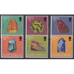 Montserrat - 2013 - No 1483/1488 - Minéraux - Pierres précieuses