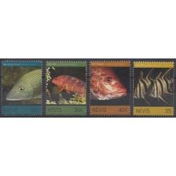 Nevis - 2011 - No 2271/2274 - Vie marine
