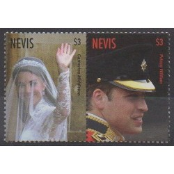 Nevis - 2011 - No 2266/2267 - Royauté - Principauté