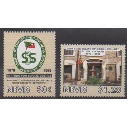 Nevis - 1998 - Nb 1091/1092